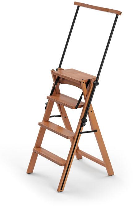 chaise escabeau en bois eletta