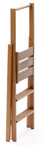 escabeau en bois kimora 3. Black Bedroom Furniture Sets. Home Design Ideas